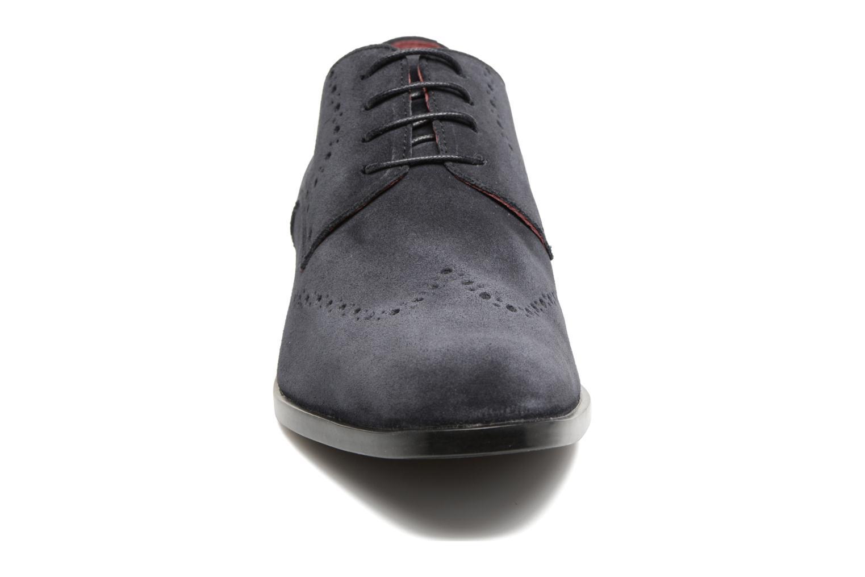 Scarpe con lacci Marvin&Co Nottingham Azzurro modello indossato