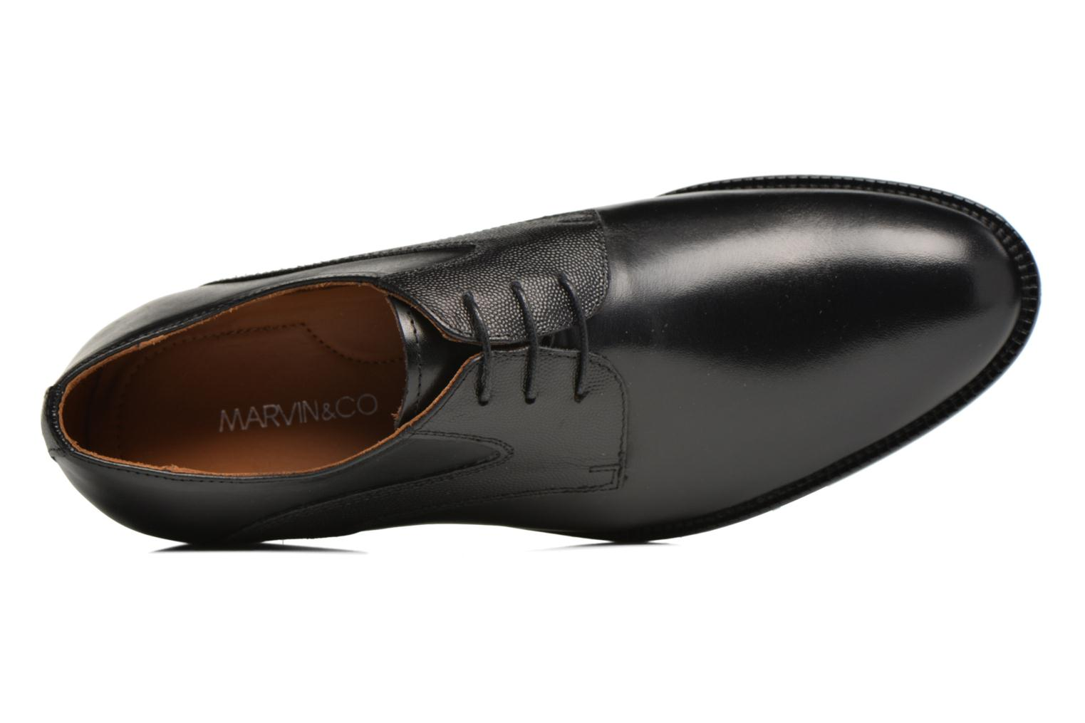 Veterschoenen Marvin&Co Northampton Zwart links