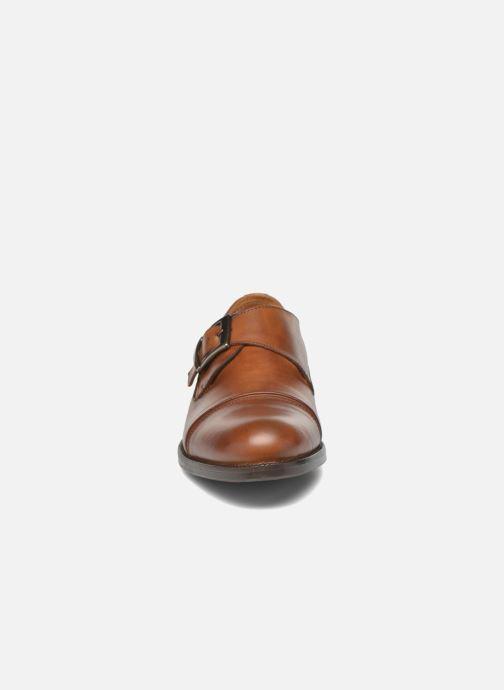 Chaussure à boucle Marvin&Co Nostell Marron vue portées chaussures