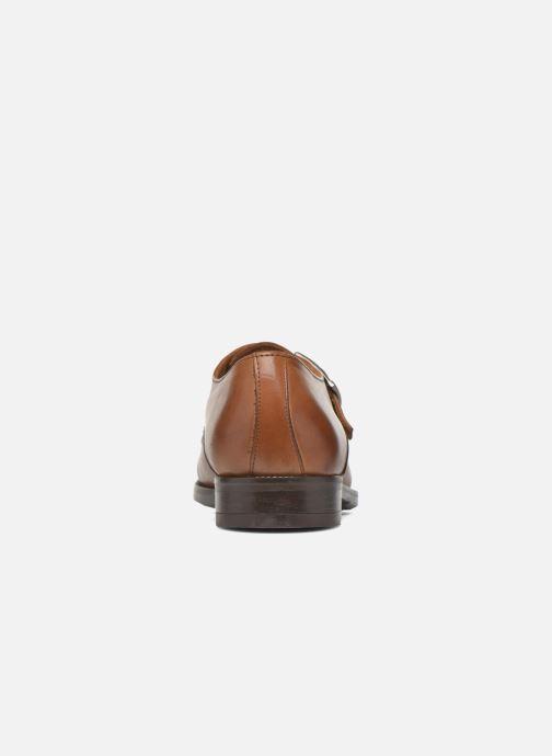 Chaussure à boucle Marvin&Co Nostell Marron vue droite