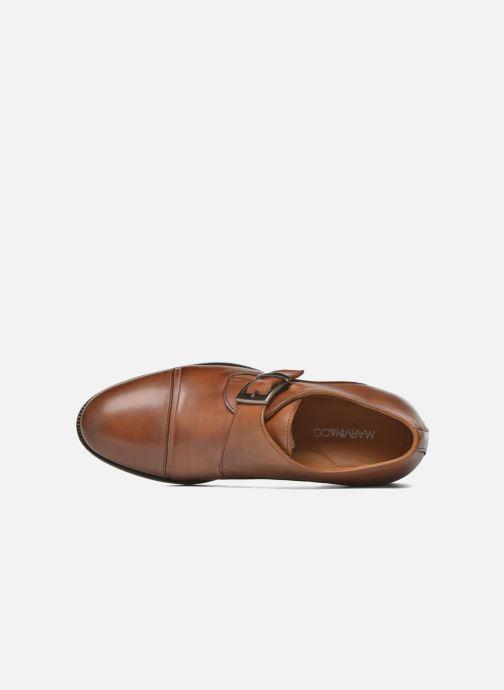 Chaussure à boucle Marvin&Co Nostell Marron vue gauche