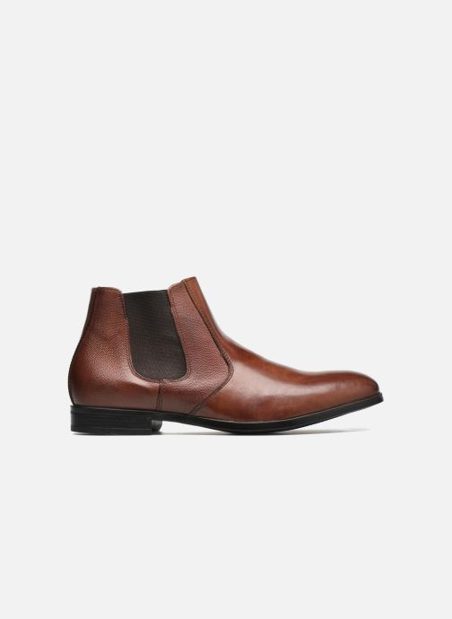 Ankle boots Marvin&co Northolt Brown back view