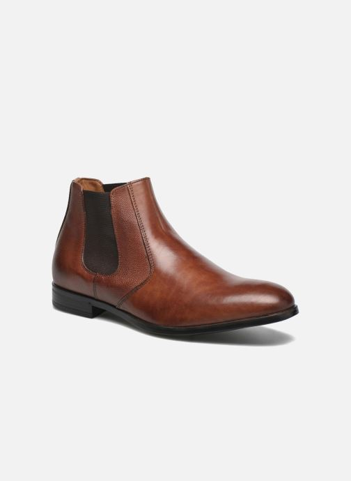 Ankle boots Marvin&co Northolt Brown detailed view/ Pair view