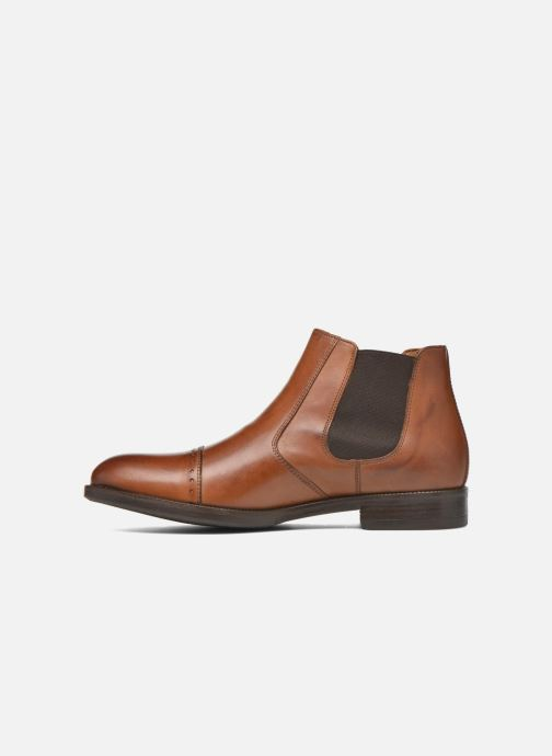 Ankle boots Marvin&co Nuneaton Brown front view