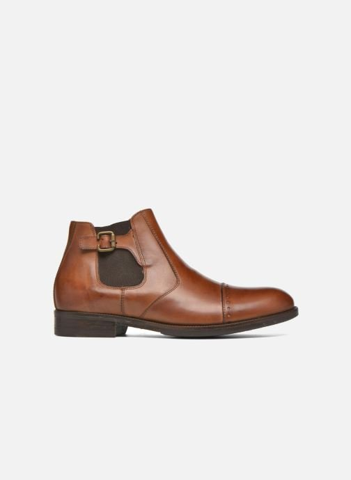 Ankle boots Marvin&co Nuneaton Brown back view