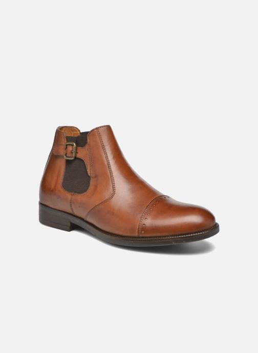 Ankle boots Marvin&co Nuneaton Brown detailed view/ Pair view