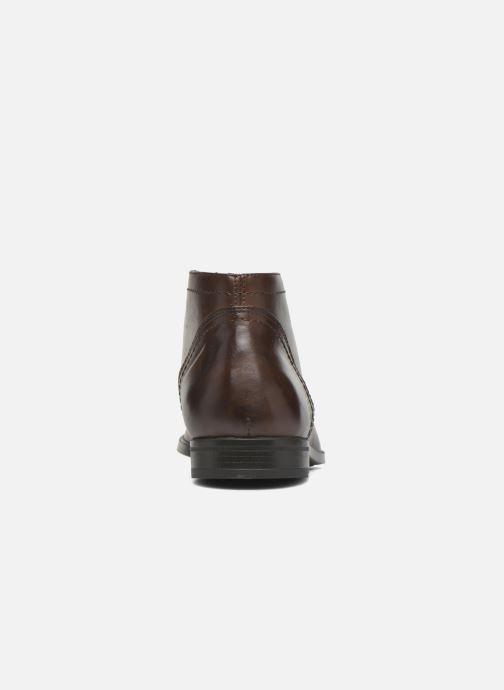 Bottines et boots Marvin&Co Newent Marron vue droite
