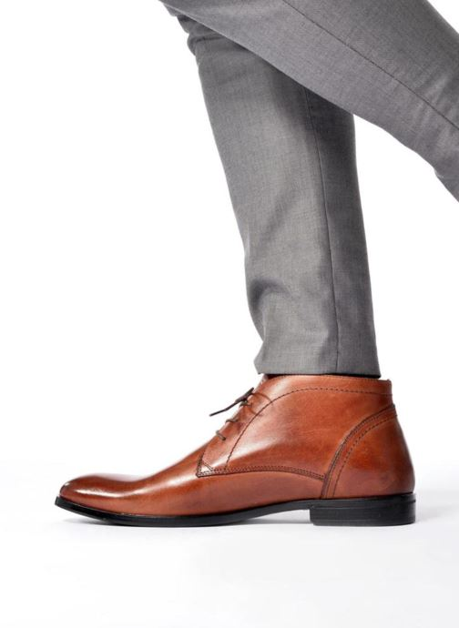 Ankle boots Marvin&co Newent Brown view from underneath / model view