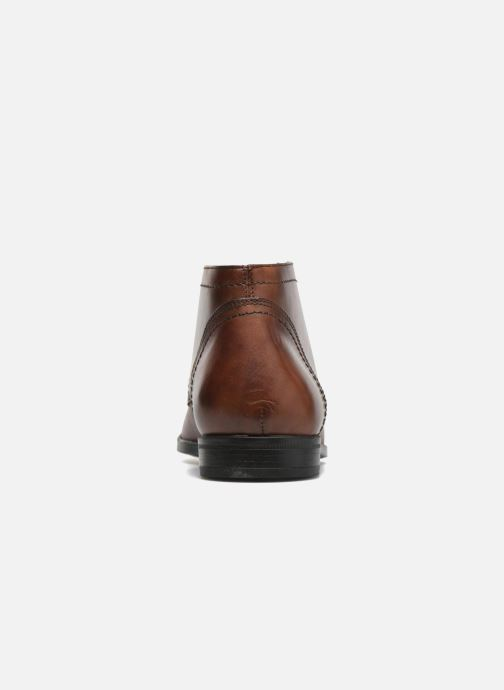 Ankle boots Marvin&co Newent Brown view from the right