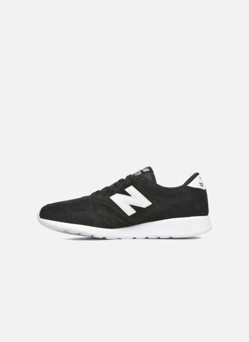Sneaker New Balance MRL420 schwarz ansicht von vorne