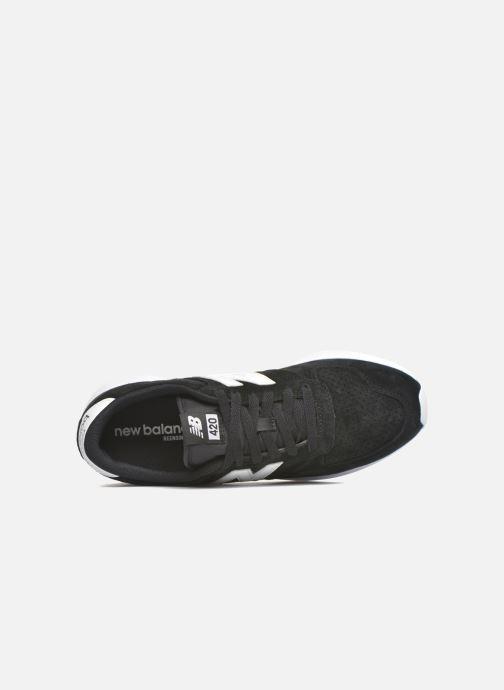 Sneaker New Balance MRL420 schwarz ansicht von links