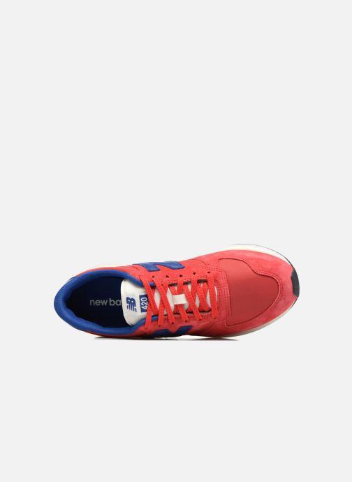 Sneaker New Balance MRL420 rot ansicht von links