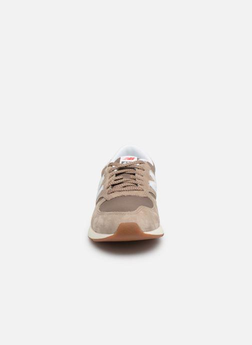 Sneaker New Balance MRL420 braun schuhe getragen