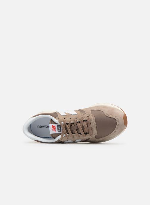 Sneaker New Balance MRL420 braun ansicht von links