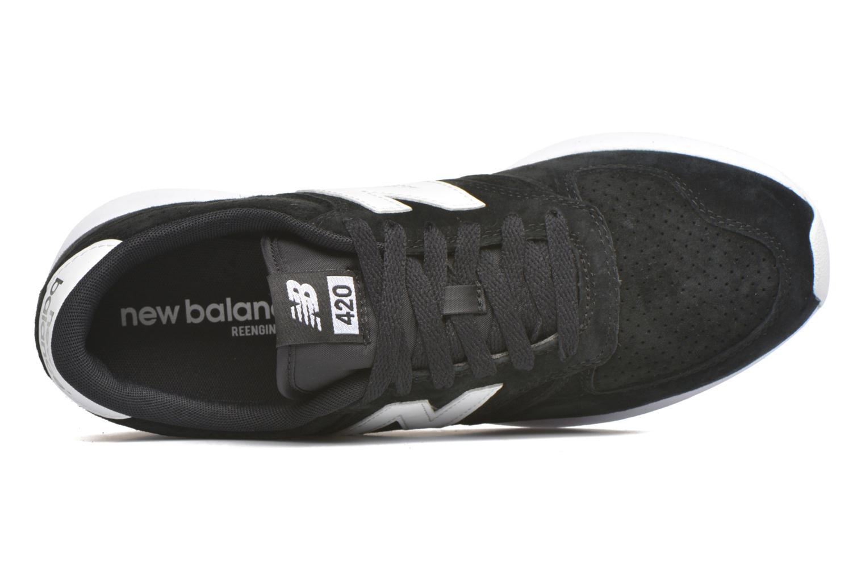 Baskets New Balance MRL420 Noir vue gauche