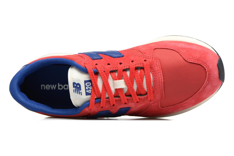 Baskets New Balance MRL420 Rouge vue gauche