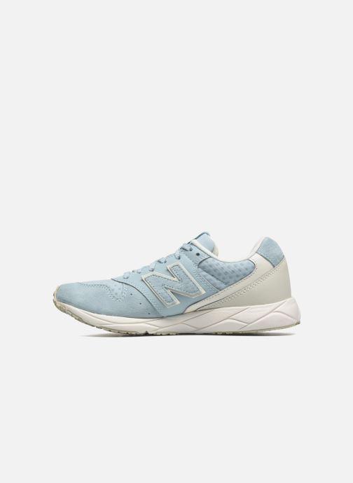 Sneakers New Balance WRT96 Azzurro immagine frontale