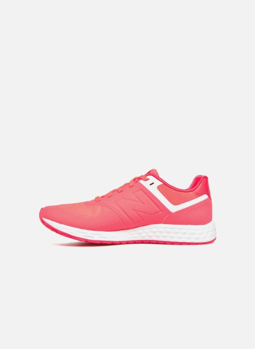 Baskets New Balance WFL574 Rose vue face