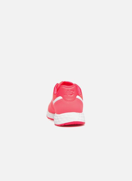 Baskets New Balance WFL574 Rose vue droite