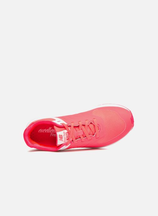 Baskets New Balance WFL574 Rose vue gauche