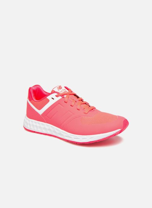 Baskets New Balance WFL574 Rose vue détail/paire