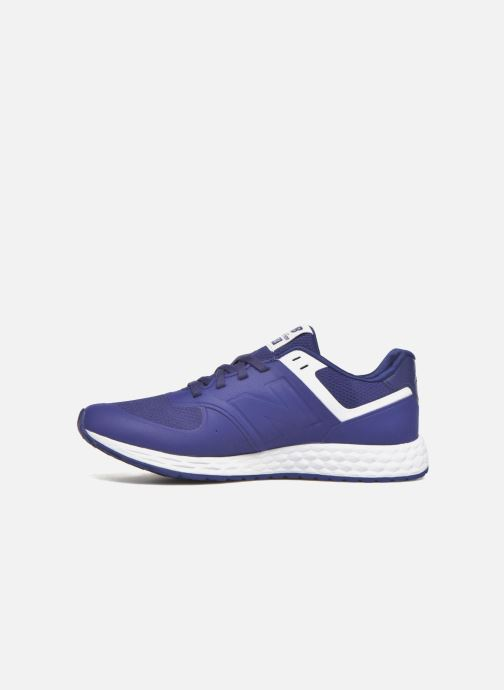 Baskets New Balance WFL574 Bleu vue face