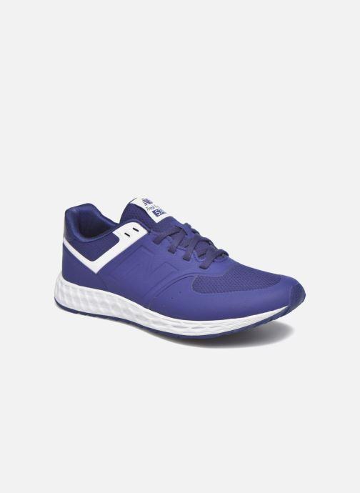 Sneaker New Balance WFL574 blau detaillierte ansicht/modell