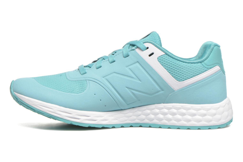 Sneakers New Balance WFL574 Groen voorkant