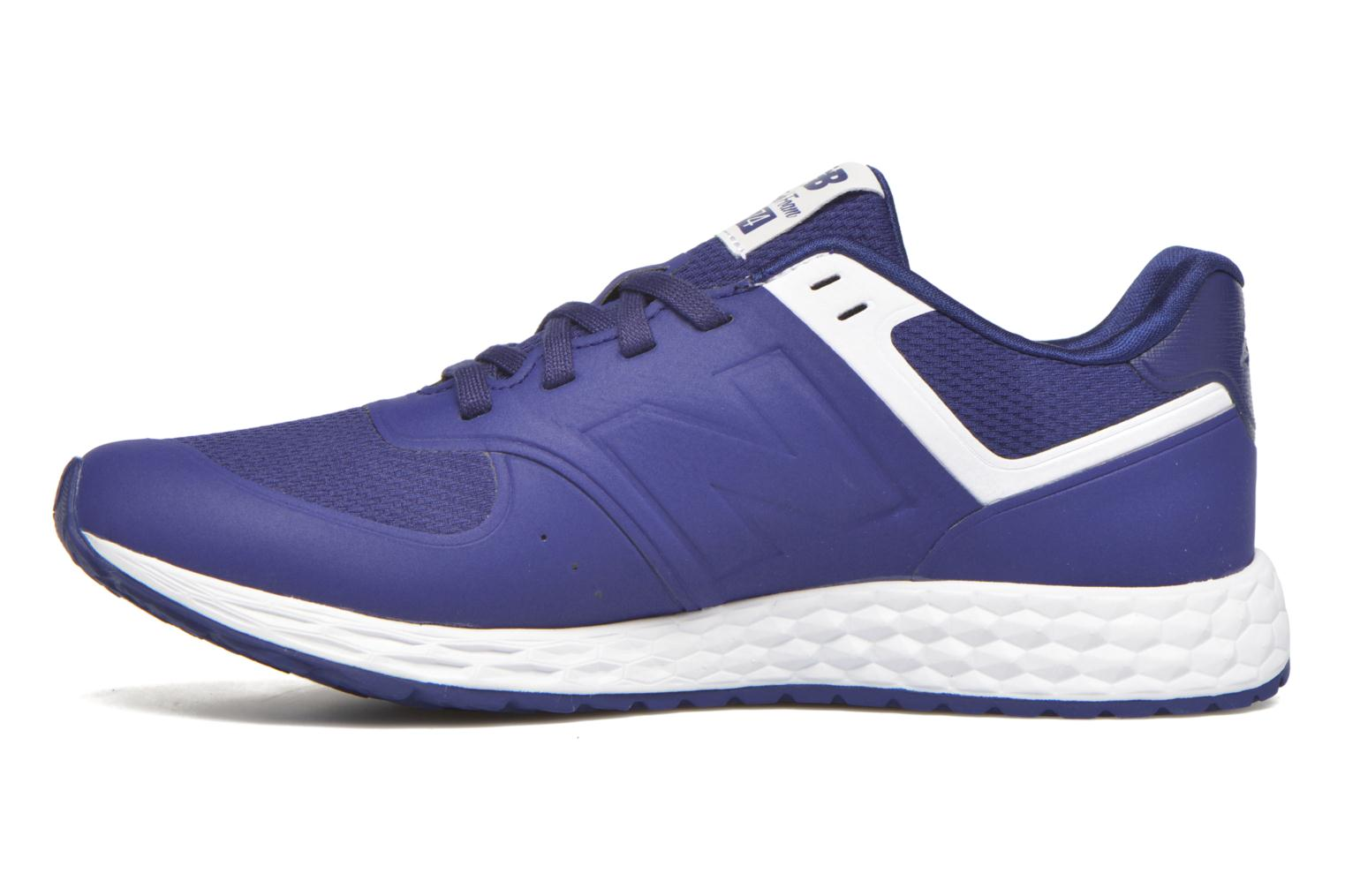Sneakers New Balance WFL574 Blauw voorkant