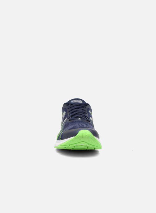 Chaussures de sport New Balance MRUSH Bleu vue portées chaussures