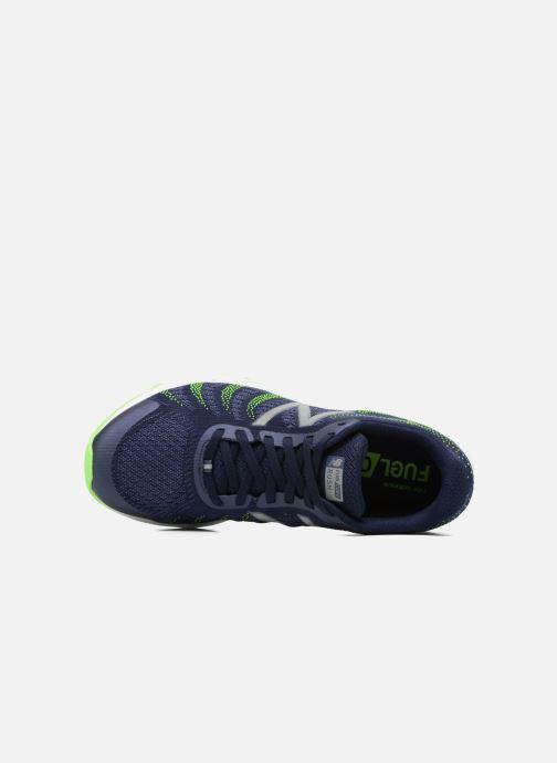 Chaussures de sport New Balance MRUSH Bleu vue gauche