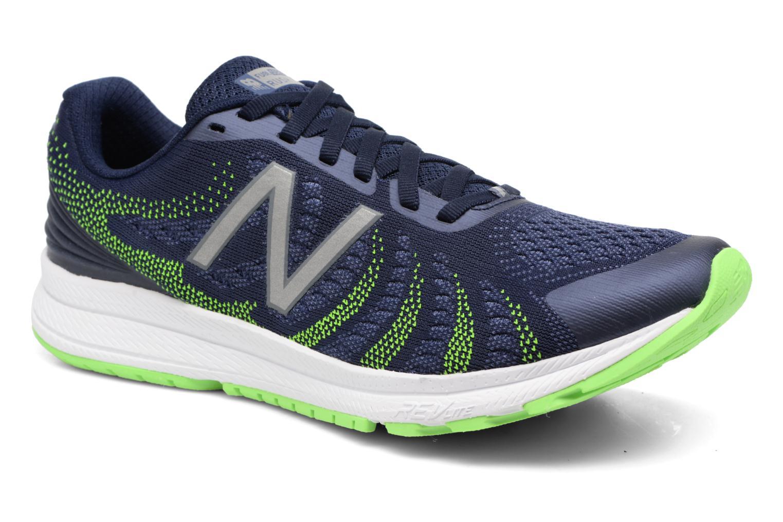 Chaussures de sport New Balance MRUSH Bleu vue détail/paire