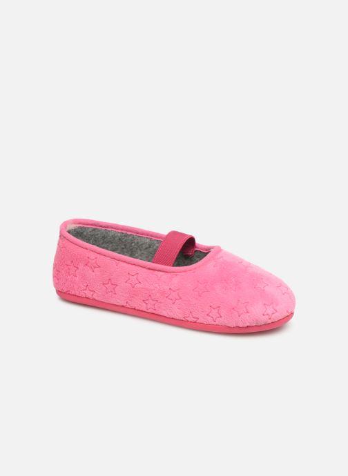 Pantoffels Rondinaud Banal Roze detail