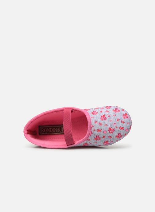 Slippers Rondinaud Banal Pink view from the left