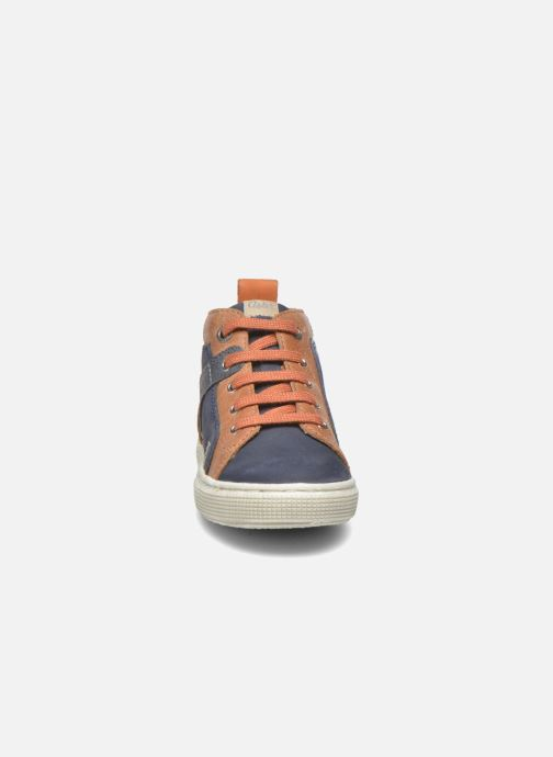 Baskets Aster Charles Bleu vue portées chaussures