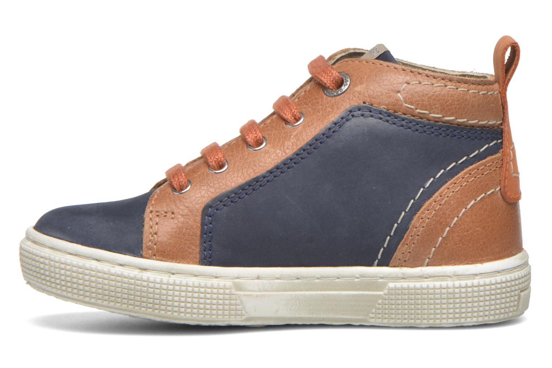 Sneakers Aster Charles Blauw voorkant