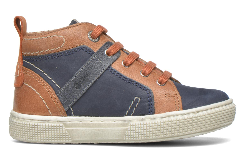 Sneakers Aster Charles Blauw achterkant
