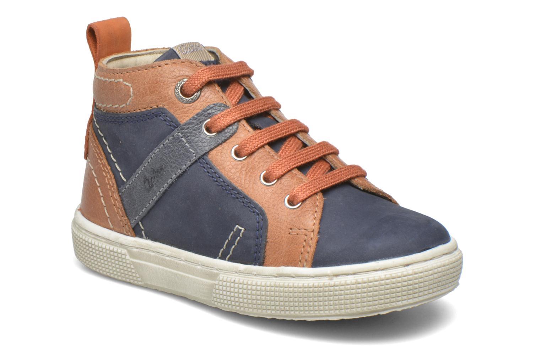 Sneakers Aster Charles Blauw detail
