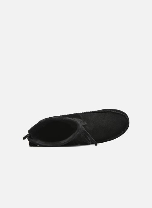 Bottines et boots Les Tropéziennes par M Belarbi Crabe Noir vue gauche