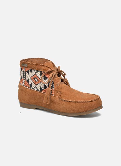 Ankelstøvler Les Tropéziennes par M Belarbi Ginika Brun detaljeret billede af skoene