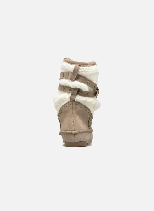 Bottines et boots Les Tropéziennes par M Belarbi Gelato Beige vue droite
