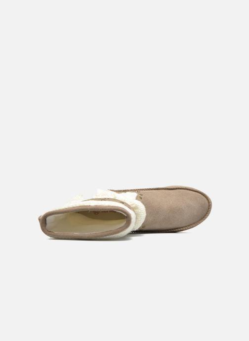 Bottines et boots Les Tropéziennes par M Belarbi Gelato Beige vue gauche