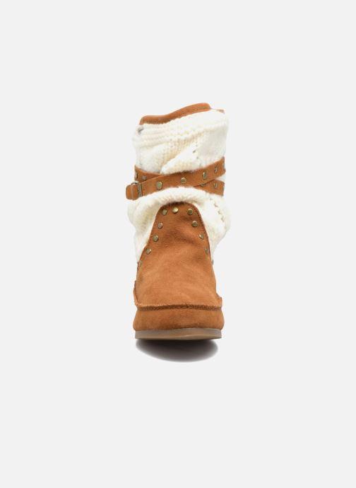 Bottines et boots Les Tropéziennes par M Belarbi Gelato Marron vue portées chaussures