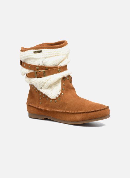 Bottines et boots Les Tropéziennes par M Belarbi Gelato Marron vue détail/paire