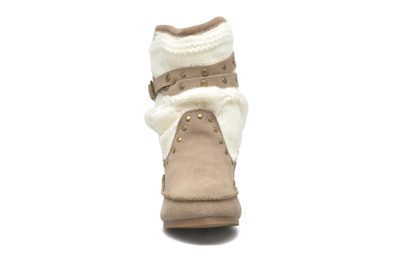 Bottines et boots Les Tropéziennes par M Belarbi Gelato Beige vue portées chaussures