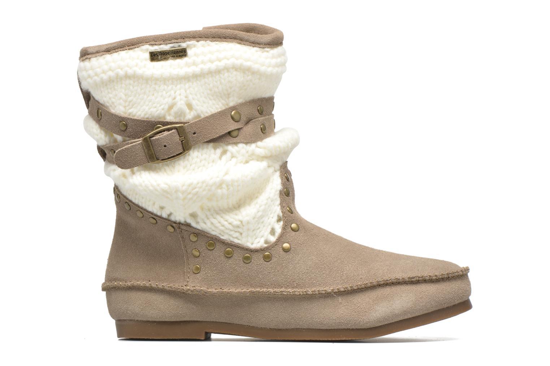 Bottines et boots Les Tropéziennes par M Belarbi Gelato Beige vue derrière