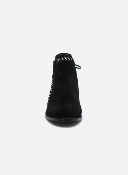 Bottines et boots Les Tropéziennes par M Belarbi Magnolia Noir vue portées chaussures