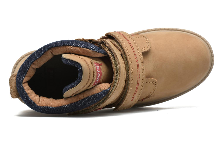 Bottines et boots Levi's Pimento Beige vue gauche
