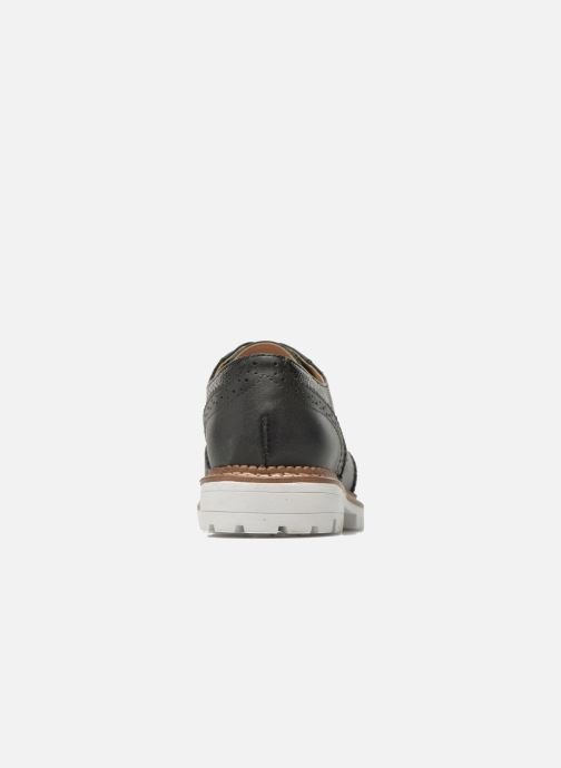 Zapatos con cordones Aldo EMELYNE Negro vista lateral derecha