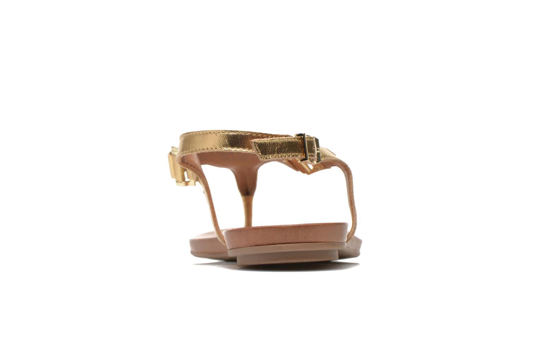 Sandales et nu-pieds Aldo ASHLEY Or et bronze vue droite